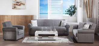 elita go gray sofa bed by istikbal