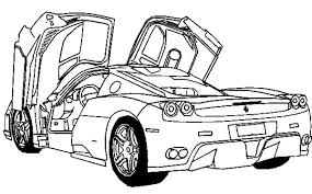 Small Picture Car Coloring Pages Ferrari Coloring Pages Ideas