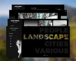 Photography Websites Templates Photography Portfolio Website PSD Templates Download Download PSD 20