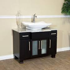 elegant black pedestal sink storage cabinet luxury round