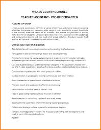 10 Pre Kindergarten Teacher Resume Offecial Letter