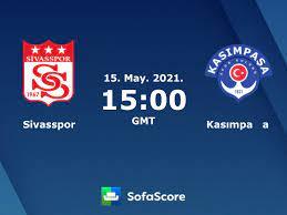 Sivasspor vs Kasımpaşa live score, H2H and lineups