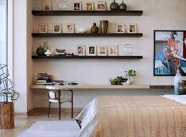 Contemporary Shelves bedroom contemporary brown wood wall shelves for bedroom with 6704 by xevi.us