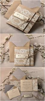 30 Our Absolutely Favorite Rustic Wedding Invitations Paper Lace