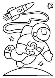 Small Picture Astronaut coloring pages for kids ColoringStar