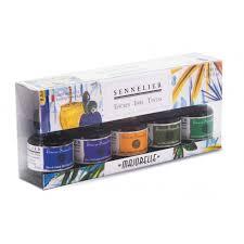 Sennelier Ink Color Chart Sennelier Ink Majorelle Colours Set 5 X 30ml I Ink I Art