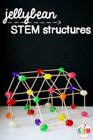 stem straw bridges straws creativity and science fair what a fun stem project for kids build jellybean and toothpick structures great engineering