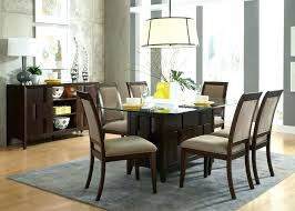 square glass table top assorted leather dining chair combined with glass top dining table 42 inch
