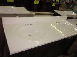 cultured marble vanity tops. 61 22 Double Bowl Standard White Cultured Marble Bathroom Vanity Sink Tops On