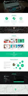 Iconic Website Design Iconic Graphics N Interaction One Page Website Design