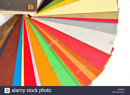Paper Color Chart Background Different Weights And Colors