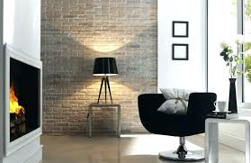 affordable fake brick wall home decor image of panels menards coverings bathroom