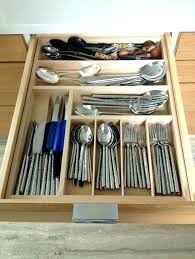 large utensil drawer organizer diy home colour ideas for living room flatware best organizers wood images