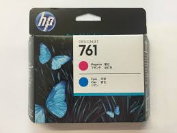Genuine Print head for <b>HP 761 Magenta</b>/<b>Cyan DesignJet</b> Printhead ...
