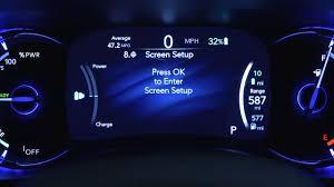 2017 Chrysler Pacifica Dashboard Lights Instrument Cluster Display Digital Dashboard Car Instrument Panel Of 2017 Chrysler Pacifica Hybrid