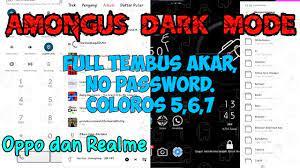 Tema AmongUS Dark Permanen+Tembus Akar ...