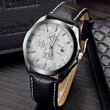 fashion watches men luxury brand men quartz leather strap watches relogio masculino male casual clock military watches