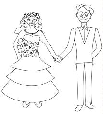 Disegno Di Marito E Moglie Felici Da Colorare Disegni Da Colorare