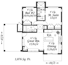 Small Picture Plan 85026MS Contemporary Getaway Smallest house Small house
