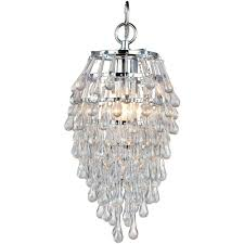 large size of astonishing af lighting crystal teardrop chrome mini chandelier along with clear dropglass