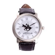 austin polo club wrist watch for men in black leather strap box stylish austin polo club wrist watch for men in black leather strap box