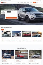 Car Dealer Website Design Carspot Automotive Car Dealer Website Template