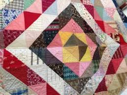 History of Quilts & Brightly colored patchwork quilt created between 1874-1952 Adamdwight.com