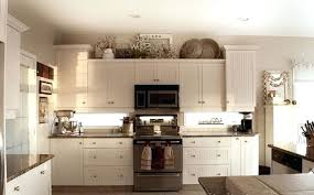 interior decorating top kitchen cabinets modern. Top Of Kitchen Cabinet Decor Ideas Above Classic  White Wooden Wall Glass . Interior Decorating Cabinets Modern