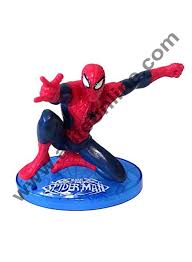 Cake Decor Ultimate Spider Man Cake Topper Superhero 7 Figure Set