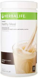herbalife formula 1 nutritional shake mix cookies cream 550g amazon co uk health personal care