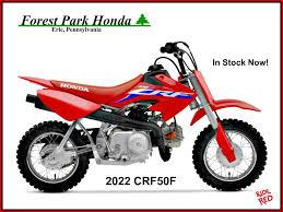 new 2022 honda crf50f motorcycles in