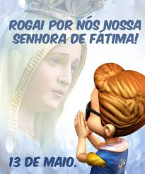 Resultado de imagem para de nOSSA seNHORA DE fÁTIMA
