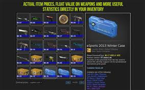 steam inventory helper chrome web store