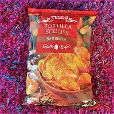 Tesco Lightly Salted Tortilla Chips Gluten Free Review Of Tescos Barbecue Tortilla Scoops Pinkiebag Com