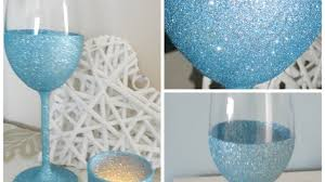 how to make your own sparkling wine glasses diy crafts tutorial guidecentral you
