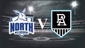 North Melbourne vs Port Adelaide ...