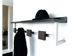 wall mounted hat rack wall mounted hat rack home rack with hat shelf coat rack with