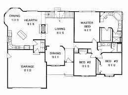 3 bedroom ranch house plans lovely simple 3 bedroom house plans pdf of 3 bedroom ranch