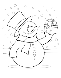 Kleurplaat Sneeuwbal Dibujo Para Colorear Tirar Bolas De Nieve Img
