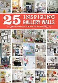 25 inspiring gallery wall ideas