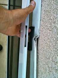 fix patio screen door rollers fresh how to fix a sliding screen door rollers sliding door