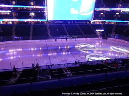 Amalie Arena View From Club Level 202 Vivid Seats