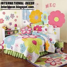 stylish girls bedroom ideas flower girls bedding colored girls bedding