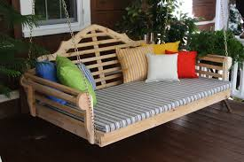 Porch Swing Bed Pine 6 Marlboro Swing Bed Al