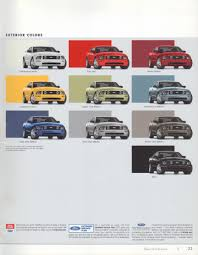 2005 Mustang Color Chart 2005 Ford Mustang Colors Auto Guide