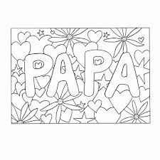 Kleurplaat Papa Tropicalweather
