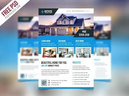 Minimal Real Estate Flyer Feature Sheet Corporate Flyers Template