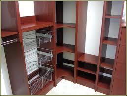 decoration closet organizer kits home depot new closetmaid impressions 16 in w dark cherry narrow