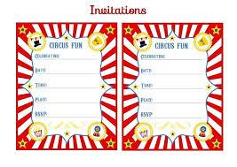 Birthday Invitation Templates Free Download Carnival Ticket Invitation Template Free Download Clip Art Birthday