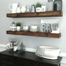 kitchen wall shelf ideas dining room floating shelves by downstairs and diy